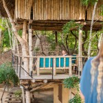 Tree House on top & Mud Chalet at ground floor - Eco Lodge, Saraii Village, Yala, Sri Lanka
