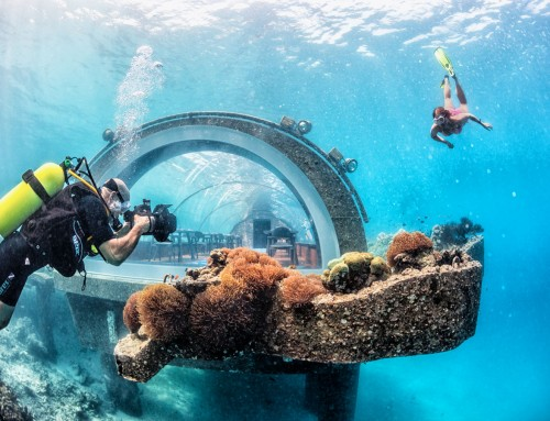 Preview – Undersea restaurant, Hurawalhi, Maldives