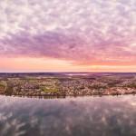 aerial-panorama-high-resolution-hjo-lake-vattern-sweden