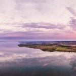 aerial-panorama-hjo-lake-vattern-sunset-sweden01