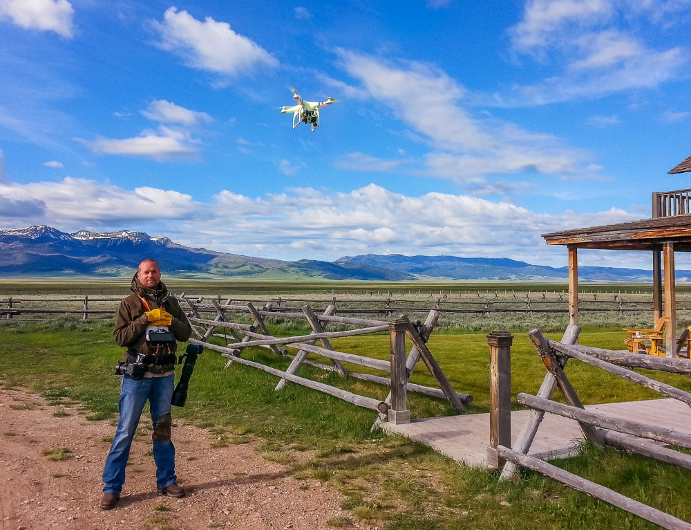 Workshop – Film with a drone, gimbal, slider & jib