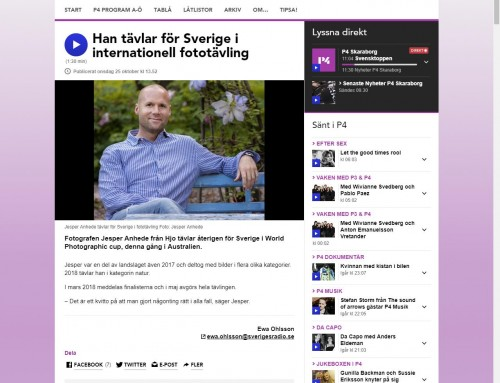 Radio feature about me – Swedish Radio (in Swedish)