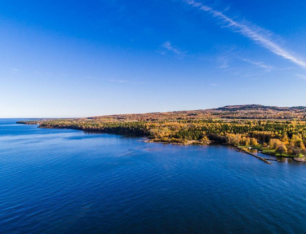 Aerial autumn photo session in Kinnekulle, Sweden 🍂