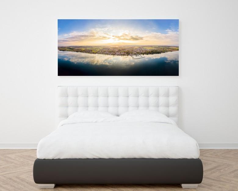 Photo art- Gigapixel panorama - Hotel bedroom