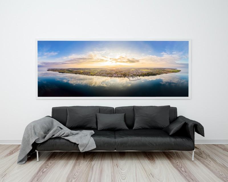 Photo art- Gigapixel panorama - Public space lounge