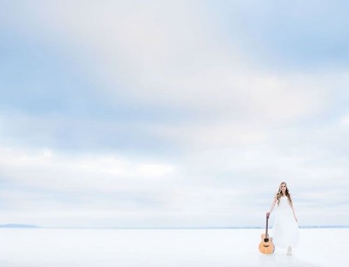 Singer-songwriter @CeciliaKallin is cool. #singersongwriter #artist #music #winter #white