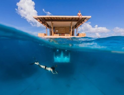 Who would like to stay at this place?! The Underwater Room at the Manta Resort, Pemba Island, Probably my most published photo. #underwater #hotel #zanzibar #pemba #splitsurface