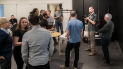 Resefotograf Jesper Anhede - föreläsning tillsammans med Sony och Scandinavian Photo