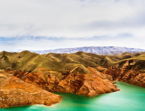 Landskapsfotografering – Nurek Reservoir, Tadzjikistan
