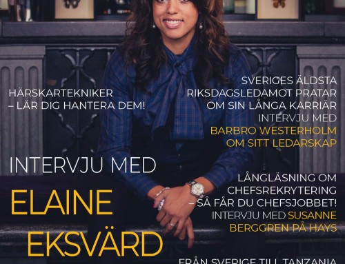 Cover photographer – Chef & Ledare