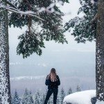 sweden-nature-outdoor-girl-view-winter-snow