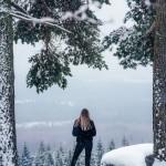 sweden-nature-outdoor-girl-view-winter-snow