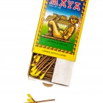 product-photo-topview-mexican-paper-matches-produktfoto-mexikanska-tandstickor-nordic-paper