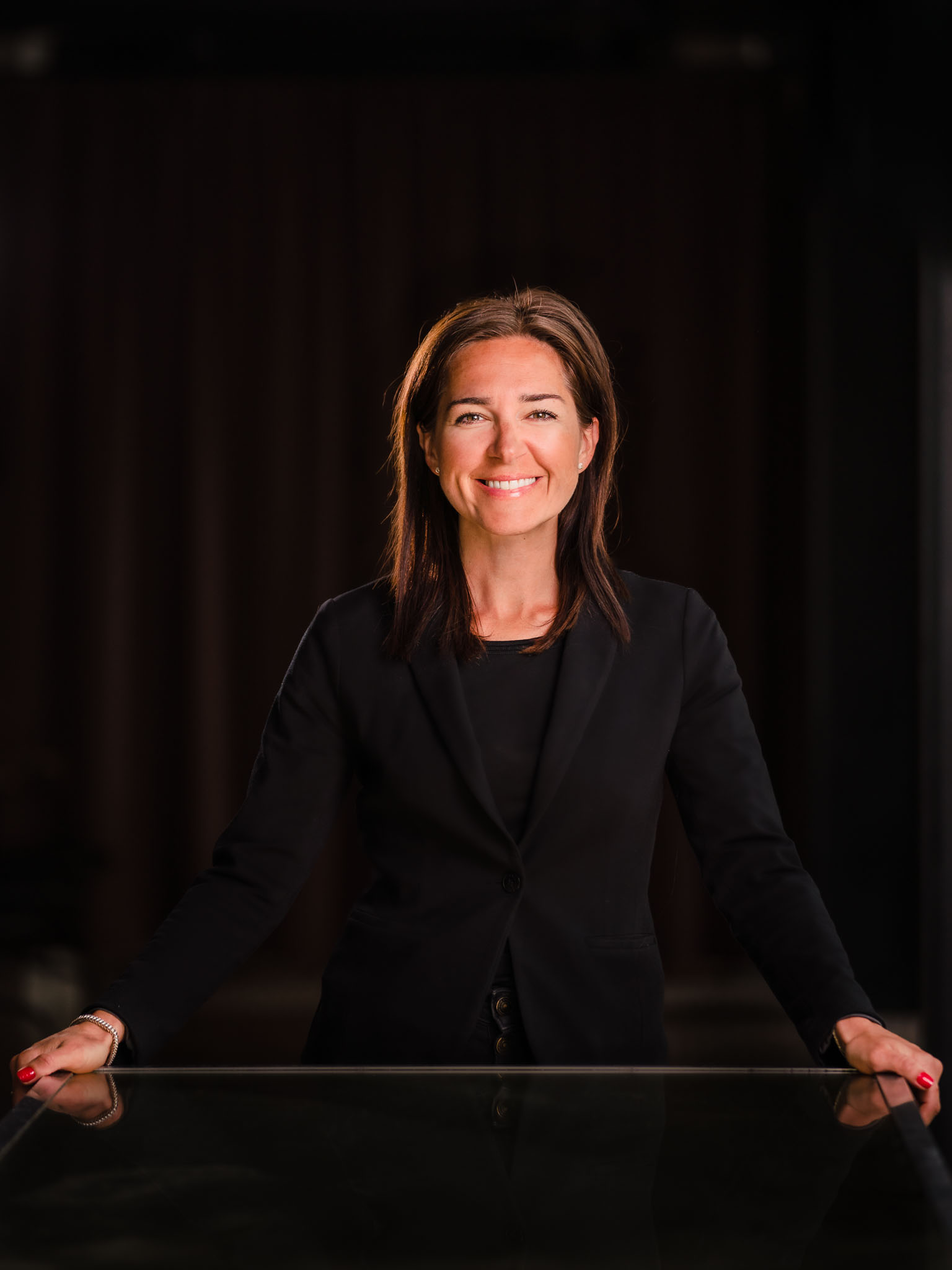 Marica Nivelt, Hotel manager Scandic Grand Central - Business portrait, Stockholm, Sweden