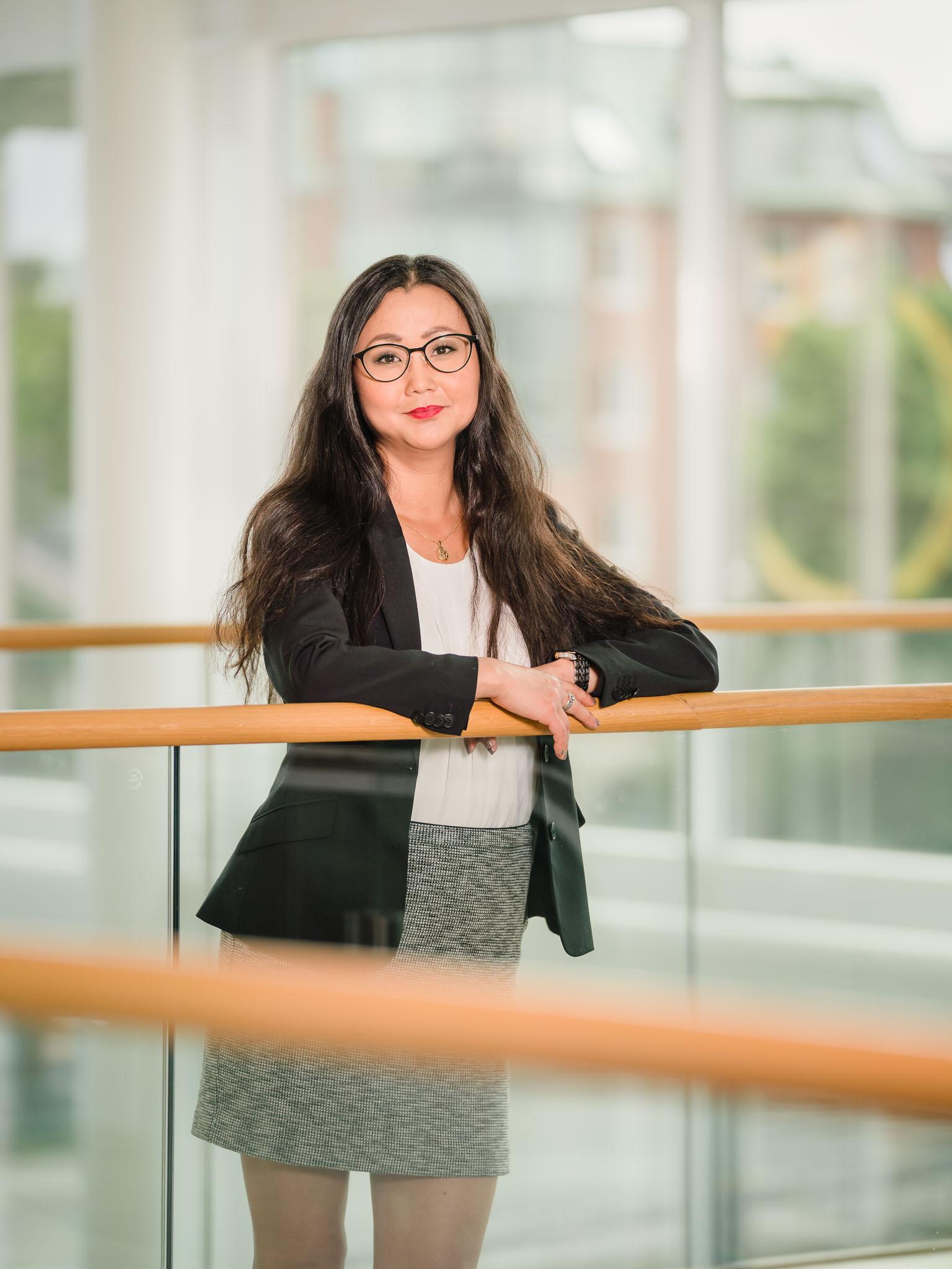Marie Stenquist, Business portrait, Karlstad, Sweden
